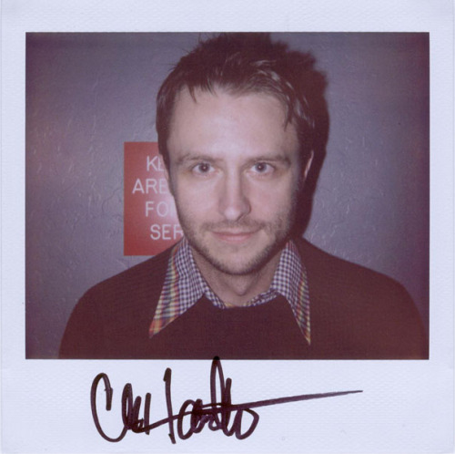 Chris Hardwick - Because we saw The Nerdist Podcast Live last night at SF Sketchfest.