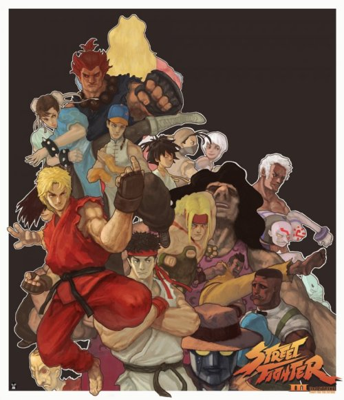 videogamenostalgia:  Street Fighter 3 - by playerjoe