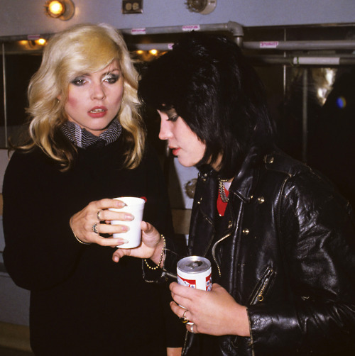 This Joan Jett and Debbie Harry photograph that I took backstage at The Whiskey A Go Go in 1977 is one of several that will be featured in the upcoming Spring 2011 issue of Purple Magazine. Can't wait to get a copy of Purple in my hot little hands. Who the fuck thought that I would be having so much fun in 2011! Photo by Brad Elterman