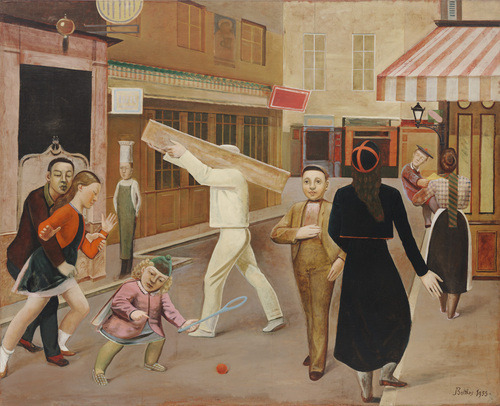 Balthus, The Street More Balthus.