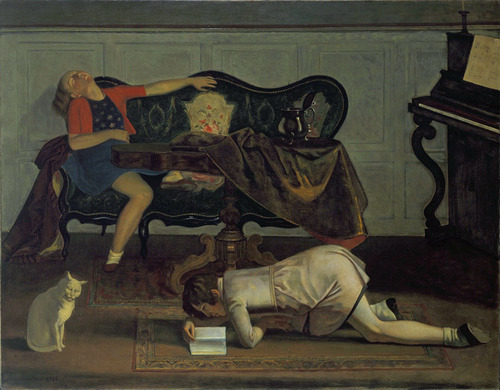 Balthus, The Living Room More Balthus.