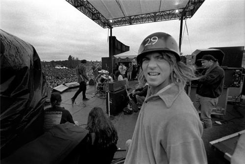 Eddie Vedder Pearl Jam, Seattle WA 1992