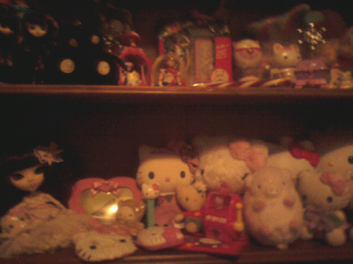 This is just a chunk of my room.