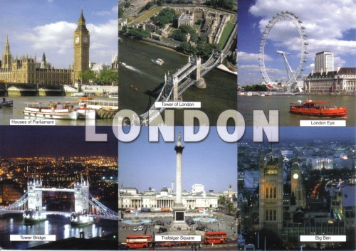 Elysia sent me a postcard from London (but posted it in Paris). Couldn't be more jealous if I tried…