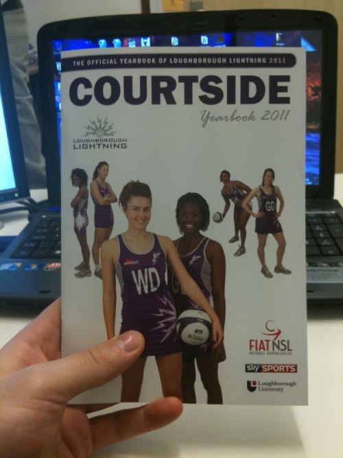 photo: @LboroLightning yearbook http://twitpic.com/3u73dp