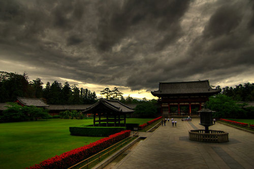 yokosojapan:  Todaiji Temple - Nara - Facing away by Michael Beddall