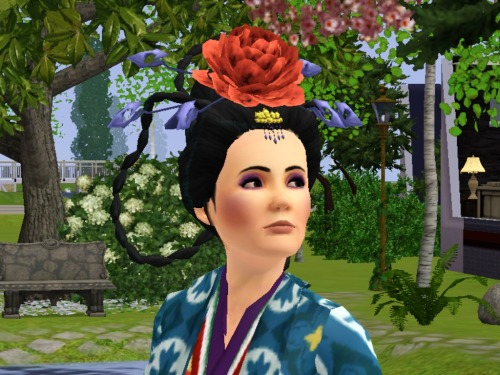 And here's Empress Biyu. I had to seriously scour the internet and Chinese language, link filled blogs to find all of the Chinese content I did..yet still, I don't have enough! I'll never be satisfied, I need more!