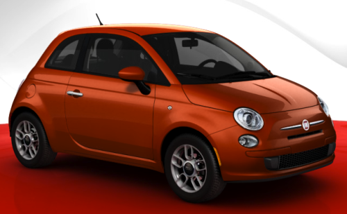 "The Fiat 500 is now available in the US. I am so glad there are car makers willing to go back to classic forms in the right way. Like Maury told me, ""It's only retro in its purity."""