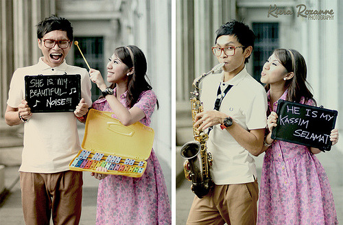 """Kassim Selamat & His Beautiful Noise…"" Preview: Wardah& JunizamPhotography by Kiera Roxanne"