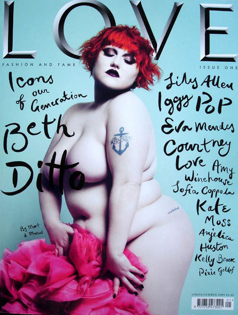 Beth Ditto from The Gossip just makes me smile…  http://www.youtube.com/watch?v=oXzJwm1Edo8