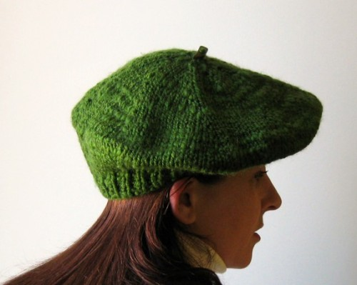 branda:  Beret Green by branda on @Etsy