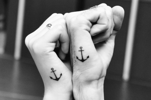 We'll get matching tattoos and be happy forever.