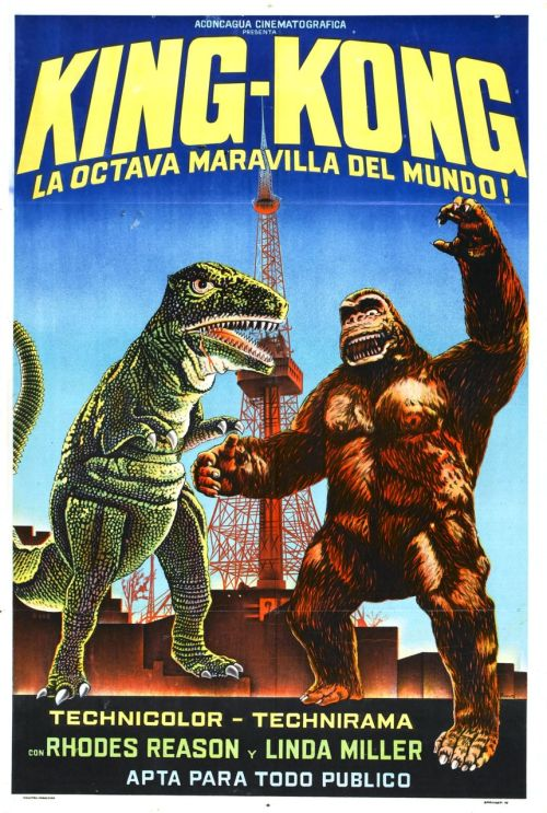 swampthingy:  King Kong Escapes (1967)