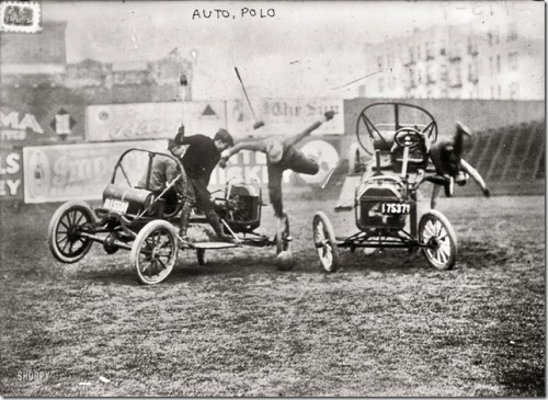 yycstudio:  People in the 20s were ballsy!  CAR POLO