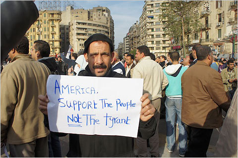 A message for Obama from Cairo —via twitter