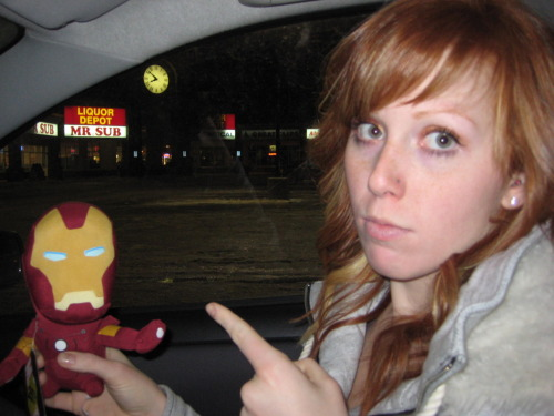 Iron Man, Red is very much aware of your alcoholism and wholeheartedly disapproves.