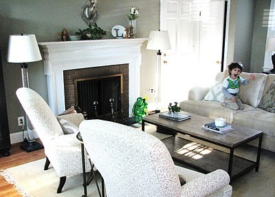 cottageandvine:  Pure Style Home: B & A Client's Neutral Living Room