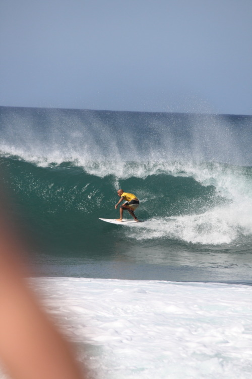 The Bald Man.  10X World Champ.  Pipeline 2010.