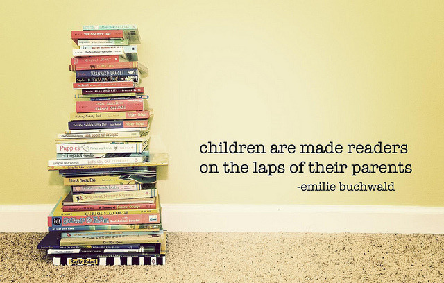 children are made readers (by Kimberly Knight) I can't wait to read to my kids! I've been keeping lists of what books I want to buy them…I believe this is very true.