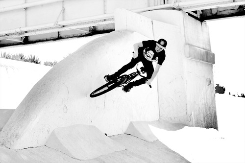 "Matt Spencer Wallride // Rocking a TTv blog ""Fucking Killing it"" tee  -Wizzard"