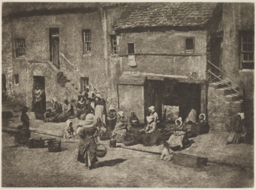 'Newhaven Fishwives at St Andrews' taken by David Octavius Hill and Robert Adamson, in about 1845