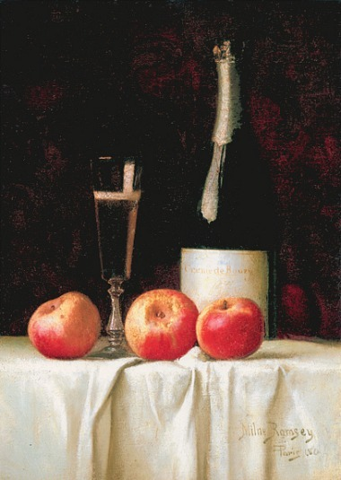 Milne Ramsey Champagne and Apples 1880