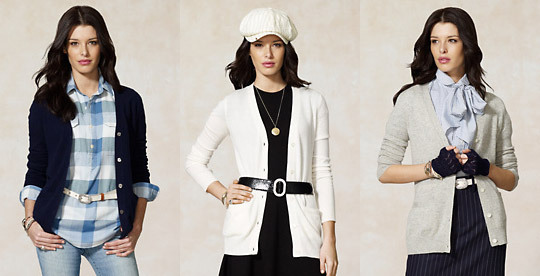 Three great looks with a simple cashmere cardi.