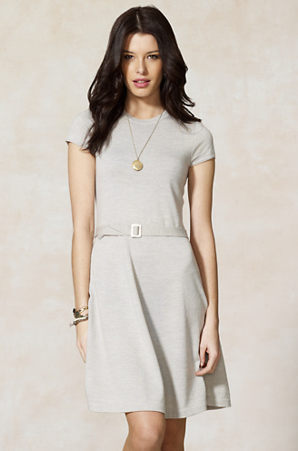 Rugby Merino Wool Jersey Dress, $148.
