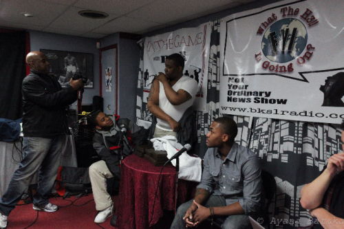 nevermoreclothing:  Nevermore Team @ BKS1RADIO on 1/29/11 , 1st Radio Interview ! ( Missing Francy ! ) -Breezy