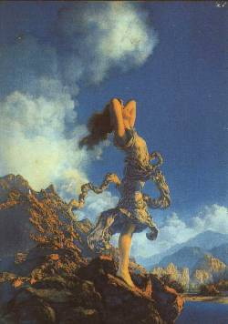 "Maxfield Parrish, ""Ecstasy"" (1929)"