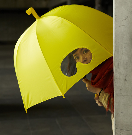 szymon:  Umbrella with goggles from 25togo Design