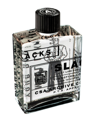 Charles S. Anderson designed this one off cologne to celebrate the release of the company's first archive book. Now I too can smell just like my Dad! See more shots and the rest of the company portfolio here.