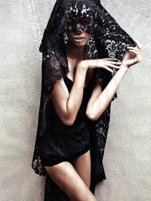 Chanel Iman for Vanity Fair Italia