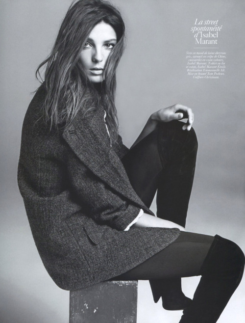Daria Werbowy for Vogue Paris.