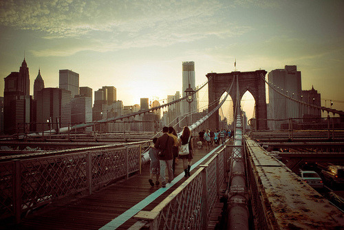 Brooklyn Bridge: since it should be a nice wknd, i'm gonna walk the bridge and take some photos. it's been a minute