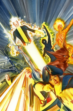 New Mutants by Alex Ross