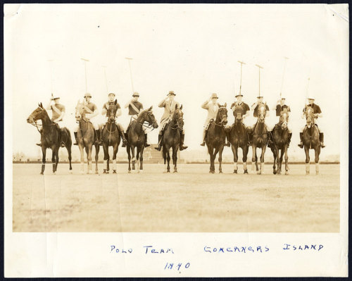 Governors Island Polo Team in 1940