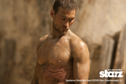 Spartacus: Blood and Sand  http://www.youtube.com/watch?v=zc6wwPrVTgM If you haven't gotten into it (ROD).  Do it! You are welcome.