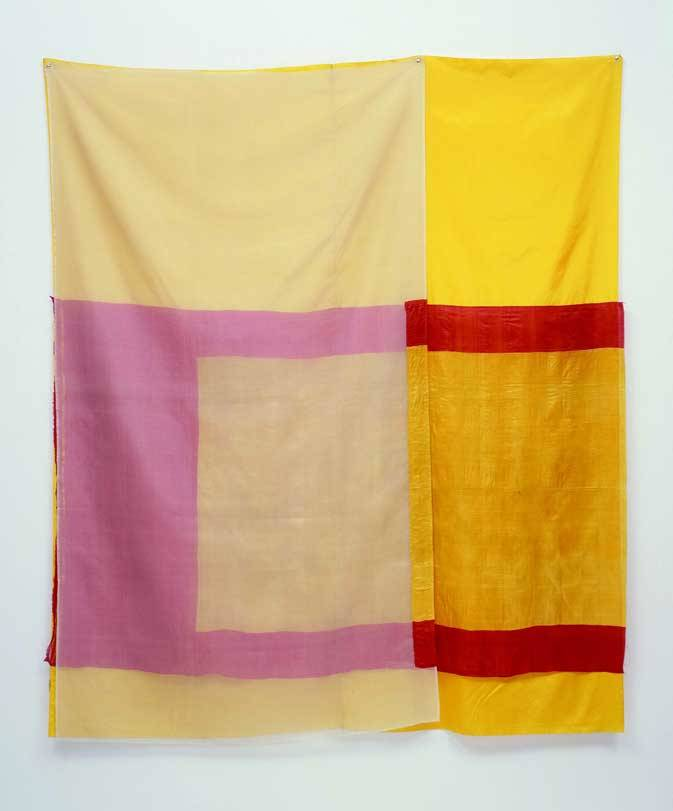 theories-of:  Robert Rauschenberg, Mirage (Jammer), 1975, Sewn fabric, 203 x 175 cm