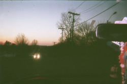 You know I'm a fan of disposable cameras. I like the fuzzy look. Took this one just wasting film so i can go get my project film developed.