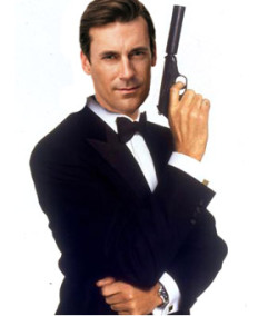 The name's Hamm.  Jon Hamm.