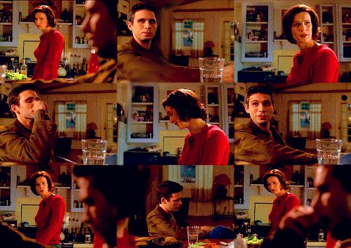 "Brenda: ""Apparently you're still angry at me for committing you.""Billy: ""No. That was the best thing that could have happened to me.""Brenda: ""Then why wouldn't you see me, or take my calls or e-mail?""Billy: ""Because Dr. Hanover suggested that I might be able to do more constructive work… If I cut things off with you for a while. Because you have contributed a lot to my pathology."" Brenda: ""You have a medical condition.""Billy: ""It's not just about pharmaceuticals. I never developed any functional way to deal with the world… because you kept me from it.""Brenda: ""Oh, wow. I've done a real number on you.""Billy: ""You were always there, looking out for me, protecting me, being strong for me. I never learned how to take care of myself. I mean, shit, Brenda, I've never even had a real girlfriend.""Brenda: ""I never let you have a girlfriend? Oh, that's good. That's really. You fucking asshole!""Billy: ""Okay, I thought we could have a rational discussion.""Brenda: ""How dare you blame me for that, Billy?""Billy: ""I'm not saying you did it on purpose. But I do think we need to disengage from each other, because our relationship is really toxic."""