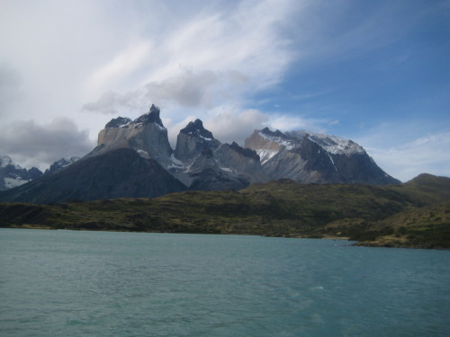 famous cuernos (horns) of Torres del Paine