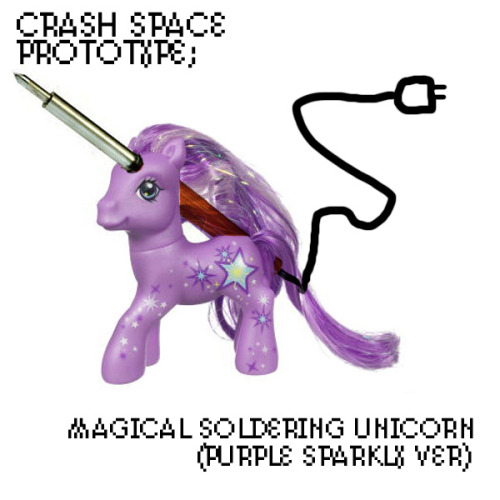 Crash Space » Blog Archive » Magical Unicorns