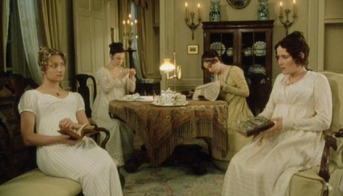 Media Film still from the movie Pride and Prejudice.  I think images like this are definitely what today's society associates with when thinking about the English teatime.