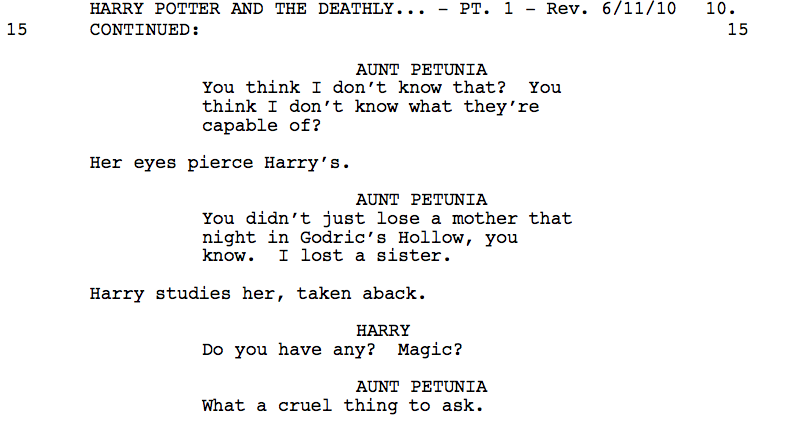 Another cut scene from DH1
