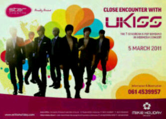 Ticket U-KISS di Mikie Holiday