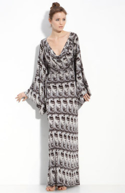 Leifsdottir Python Print Maxi Dress | Nordstrom.com I love this dress so much.  I wish I was tall enough (and rich enough) to pull it off.