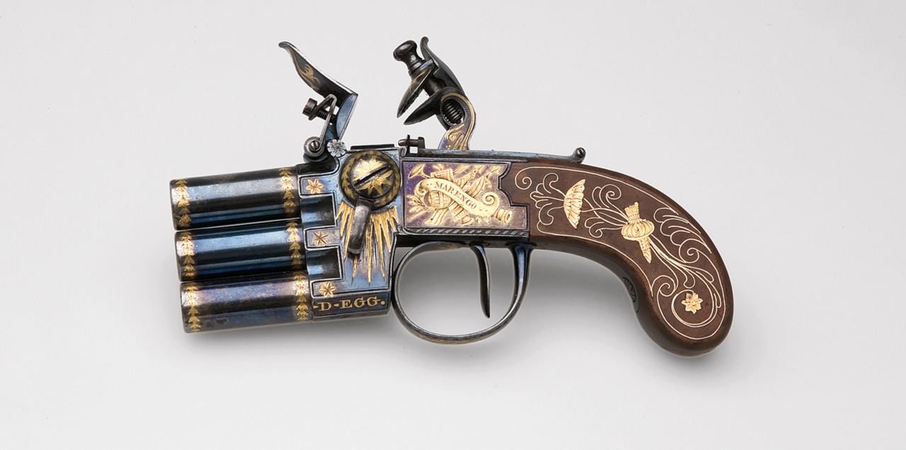 Napoleon Bonaparte's flintlock pistol. Since this was probably more a decorative item, it would be worth starting a comic/cartoon about Napoleon just so he could be depicted using it to own royalists and Austrians and the like. Talk about giving them a whiff of grapeshot.