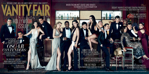 Vanity Fair Hollywood Issue. I'm excited to see some of my new favorites - Andrew Garfield, Noomi Rapace, Olivia Wilde - and some that I've been a fan of for AGES - Anne Hathaway, Jake Gyllenhaal, Joseph Gordon-Levitt, James Franco, Mila Kunis. Jesse Eisenberg looks the best I've ever seen him! I'm not such a fan of Olivia Wilde's or Mila Kunis' dresses. Otherwise, the Old Hollywood look is gorgeous. - Lahav